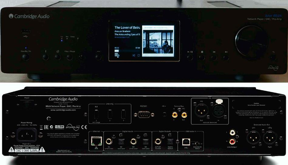 Listening test] Cambridge Audio 851n Streamer