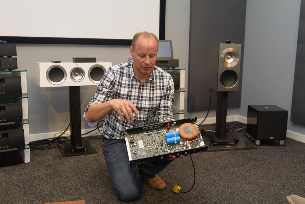 Andy Moore With AR A60
