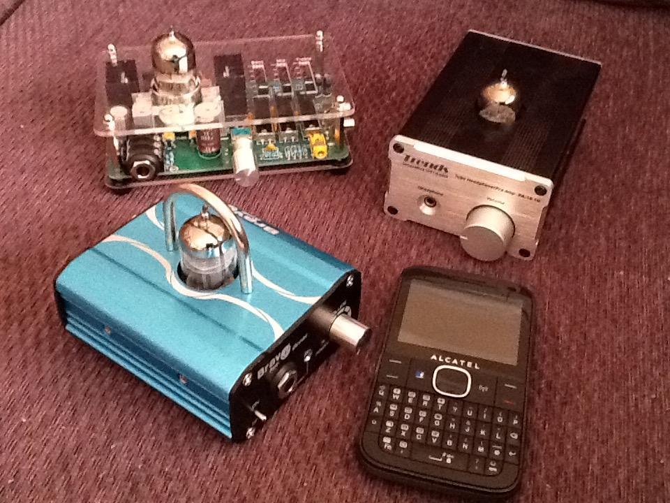 Bravo Audio Ocean Mini Valve Class A Tube Headphone Amplifier