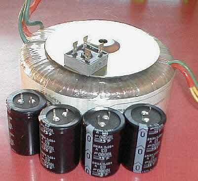 Solid State Power Amplifier Supply Part 1
