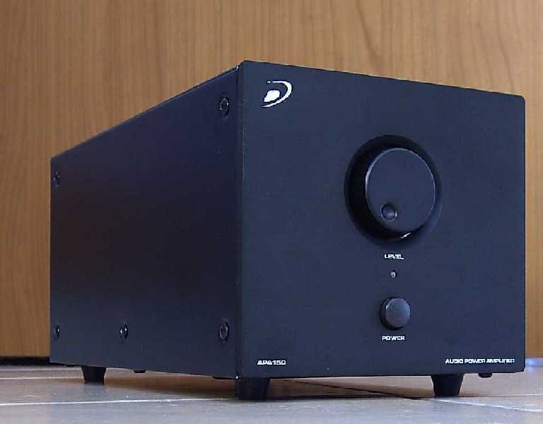 Review] Dayton Audio APA-150 - Class AB integrated amp/power