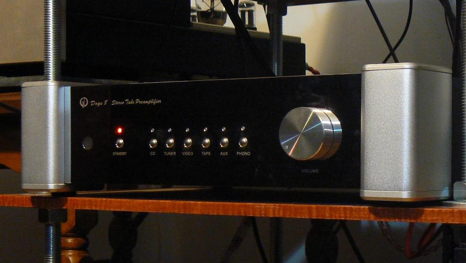 Review Doge 8 Tube Preamplifier