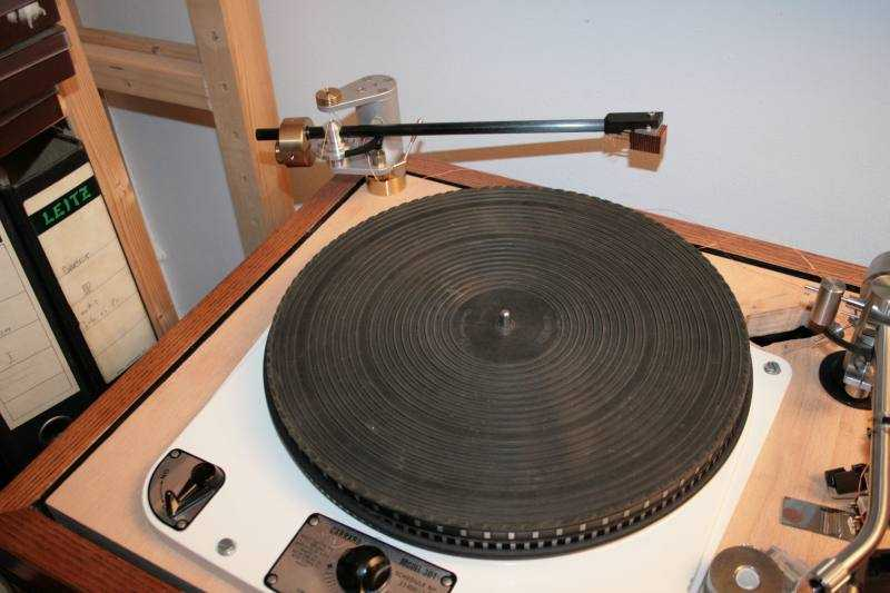 [Garrard 301 with original mat]