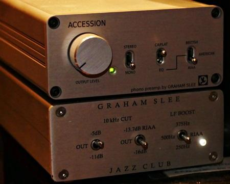 Review] Graham Slee Accession phono stage