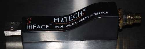 [M2Tech hiFace 2 USB to S/PDIF output interface]