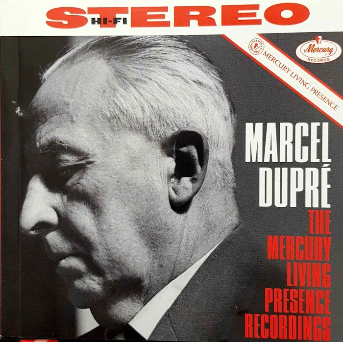 [Marcel Dupré - Mercury Living Presence - CD box set]