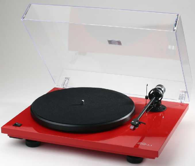 [MusicHall MMF 2.1LE turntable]