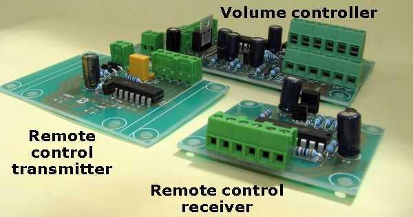 Assembled volume control board Attenuation  Digital display remote control