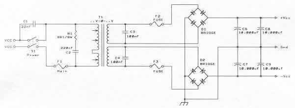 Solid state power amplifier supply part 1 psu diagram sciox Choice Image