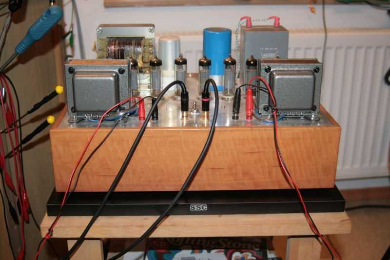 [SSC Solidbase tube power amp]