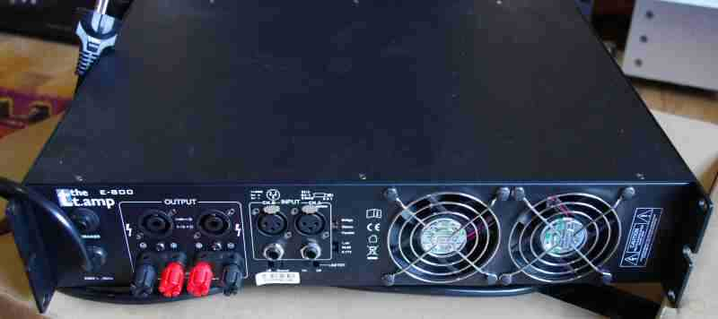 Review  Thomann T Amp E800 Pro Pa Amplifier