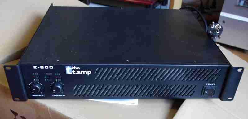 review thomann t amp e800 pro pa amplifier english rh tnt audio com E400 2018 2017 E400