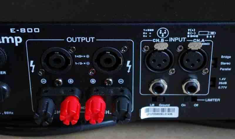 Review] Thomann t amp E800 Pro PA Amplifier - [English]