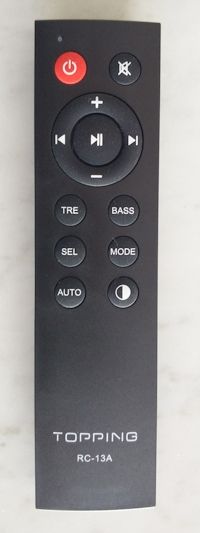[Topping MX3 - remote control]
