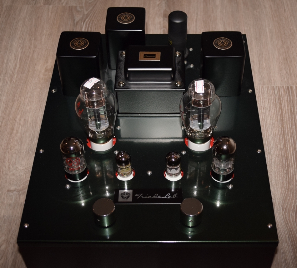 [Triode Lab 2A3 EVO Front view]