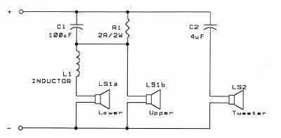TNT : re-building the Acoustic Research AR94  Way Component Speakers Wiring Diagram on